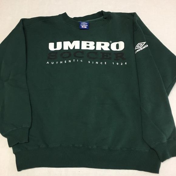 dbb1c56e2c Umbro Shirts | Vintage Soccer Spell Out Logo Sweatshirt | Poshmark